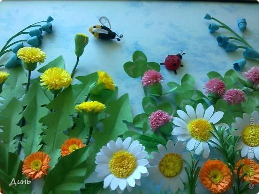 Здравствуйте, дорогие мастерицы! У меня снова полевые цветочки. фото 3