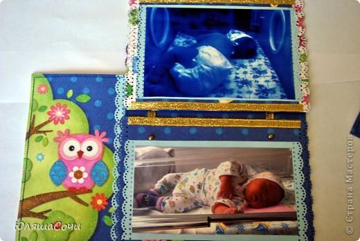 мой первый разворот для альбомчика младшей дочи)))  оба листа альбома фото 4
