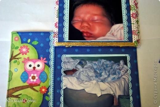 мой первый разворот для альбомчика младшей дочи)))  оба листа альбома фото 5