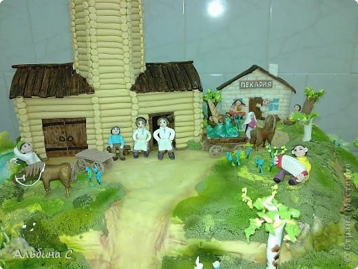 торт сделан на выставку,посвящённой 80-летию хлебопекарной промышленности РТ.(перед выставкой) фото 3