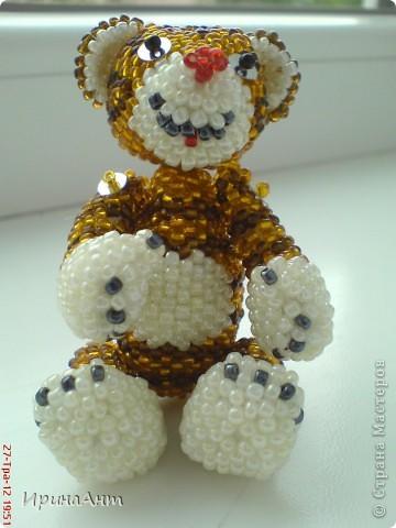 Этот тигренок сделан по МК  Ульяны Волховской, за что ей огромное спасибо фото 1