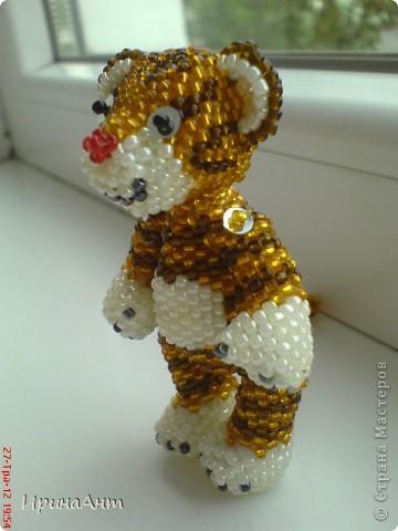 Этот тигренок сделан по МК  Ульяны Волховской, за что ей огромное спасибо фото 4
