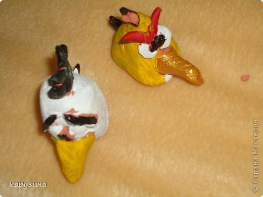 Angry Birds- герои компьютерной игры из глины фото 7