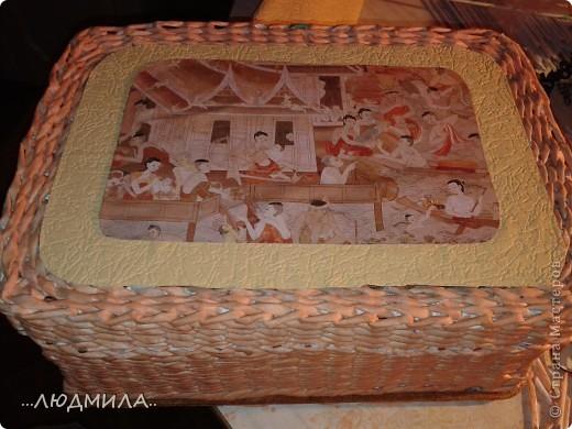 Такую коробочку я сплела в подарок дочке фото 15