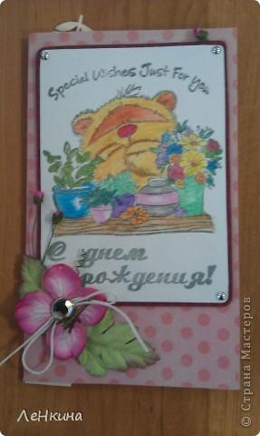 Купила Лена себе новые штампики с мишками )))) И пошла отрываться ) фото 5