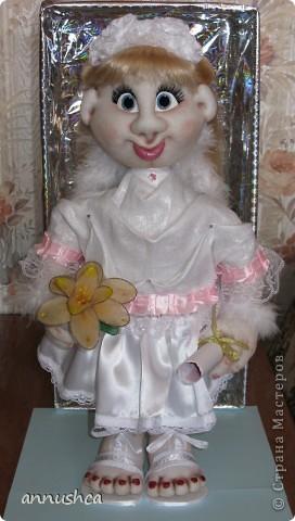 Заказали Ангела на день рождения, сделала.  фото 1