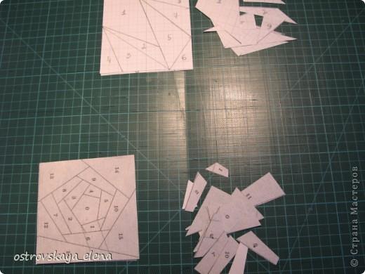 Этот способ шитья ОЧЕНЬ облегчает создание узоров любой сложности в технике лоскутного шитья, острые углы, мелкие мотивы, и пр. Шьем на бумажной основе, можно использовать любую бумагу, я простую офисную использую. фото 2