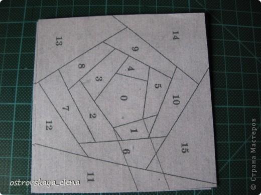 Этот способ шитья ОЧЕНЬ облегчает создание узоров любой сложности в технике лоскутного шитья, острые углы, мелкие мотивы, и пр. Шьем на бумажной основе, можно использовать любую бумагу, я простую офисную использую. фото 3