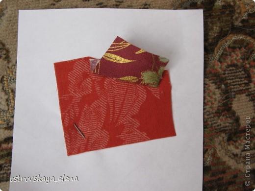 Этот способ шитья ОЧЕНЬ облегчает создание узоров любой сложности в технике лоскутного шитья, острые углы, мелкие мотивы, и пр. Шьем на бумажной основе, можно использовать любую бумагу, я простую офисную использую. фото 7