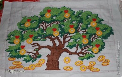 денежное дерево Нитки фото