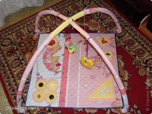 К рождению племянницы сделала такой коврик :) фото 1
