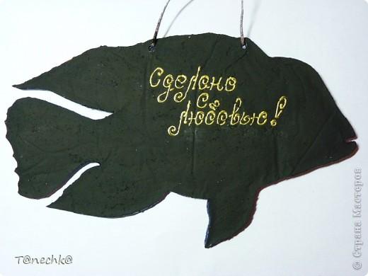 Знакомьтесь, Акара бирюзовая, в моем исполнении. Делала в подарок для одного любителя аквариумных рыбок. Надеюсь подарок понравится!  фото 4