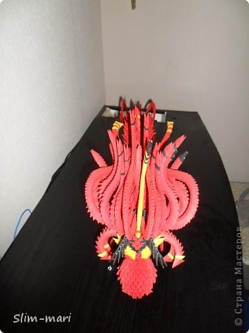 Я очень долго собиралась и наконец решилась, а теперь руки не доходят доделать этого чудного дракончика. Ему пока не хватает подставки и длинных усов, и наверное ещё чего не будь, но по крайней мере он уже стоит на ногах. Делала его по образу и подобию от сюда http://stranamasterov.ru/node/273554?c=favorite, огромное спасибо sivita. фото 3