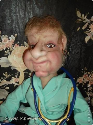 Это я сделала в подарок доктору ЛФК в детской поликлинике. Ей скоро исполнится 70 лет, а она ещё работает. Очень любит деток и очень внимательный врач!)))))))))))) фото 2