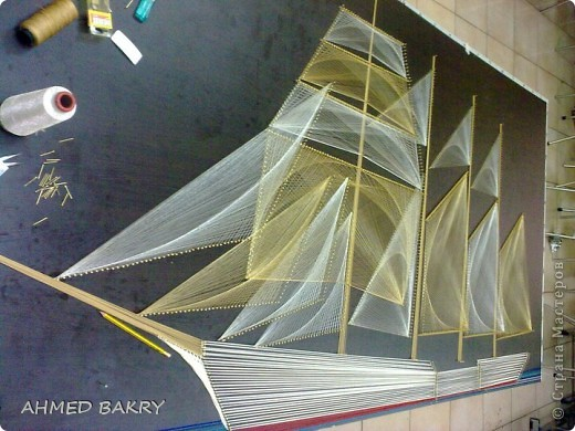Ahmed Bakry String art фото 3