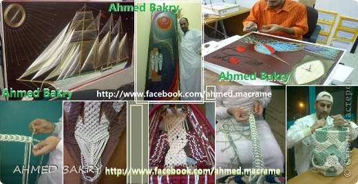 Ahmed Bakry String art фото 2