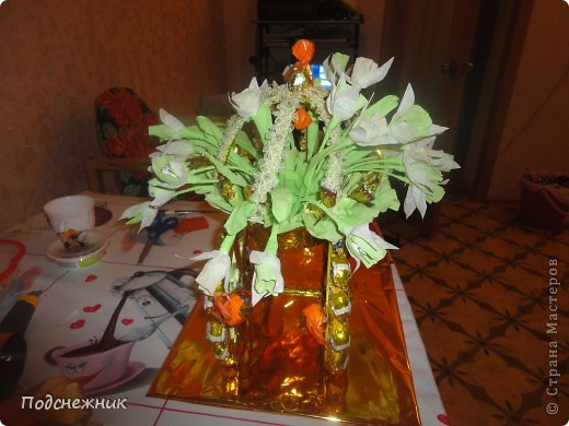 Карета с подснежниками, подаренная в преддверии весны этого года фото 3