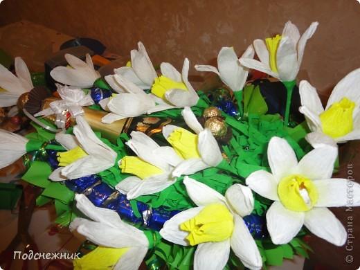 Нарциссы, подаренные в апреле фото 2