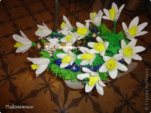 Нарциссы, подаренные в апреле фото 4