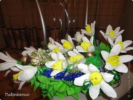 Нарциссы, подаренные в апреле фото 5