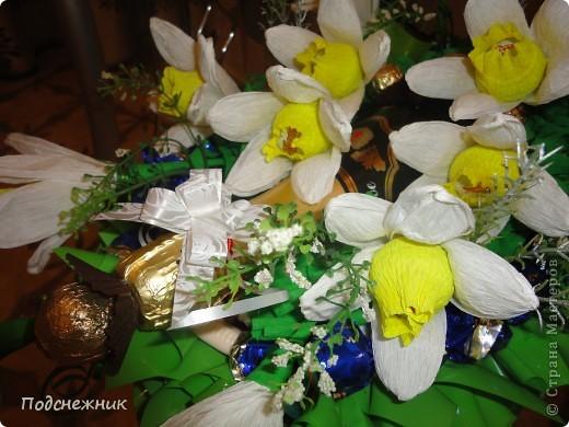 Нарциссы, подаренные в апреле фото 6