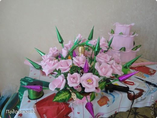 Розы в стиле свит-дизайн фото 1