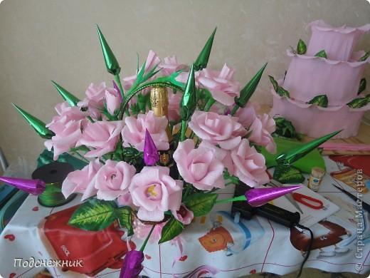 Розы в стиле свит-дизайн фото 2