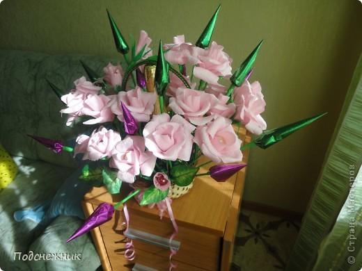 Розы в стиле свит-дизайн фото 5