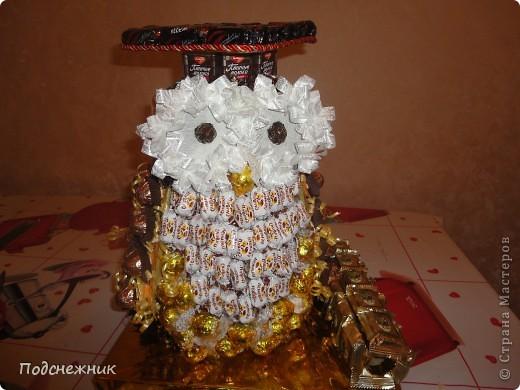 Такая сова была изготовлена в подарок одному из профессоров известного в Уфе вуза по случаю его Юбилея! фото 4