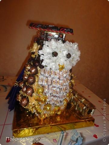 Такая сова была изготовлена в подарок одному из профессоров известного в Уфе вуза по случаю его Юбилея! фото 5