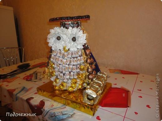 Такая сова была изготовлена в подарок одному из профессоров известного в Уфе вуза по случаю его Юбилея! фото 6