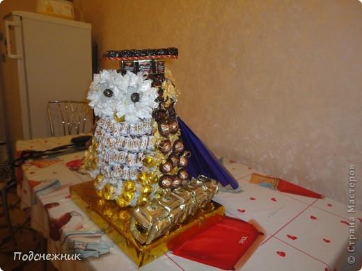 Такая сова была изготовлена в подарок одному из профессоров известного в Уфе вуза по случаю его Юбилея! фото 7