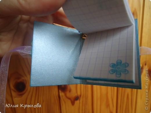 Вот такой вот блокнотик родился у меня сегодня. Подарила его дочке, как раз в День защиты детей :) фото 2