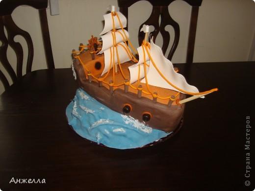 сладкий кораблик