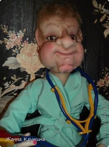 Это я сделала в подарок доктору ЛФК в детской поликлинике. Ей скоро исполнится 70 лет, а она ещё работает. Очень любит деток и очень внимательный врач!)))))))))))) фото 4