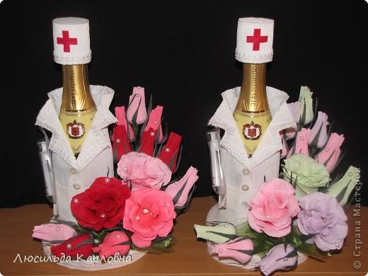 Букет из конфет для медсестры