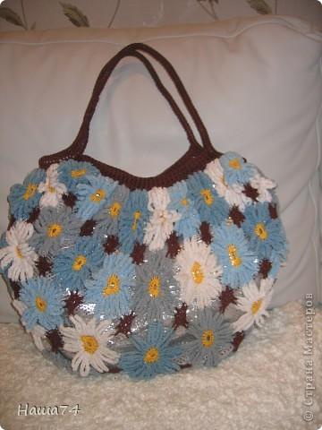 Ромашковая  сумочка фото 1