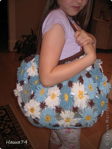 Ромашковая  сумочка фото 2