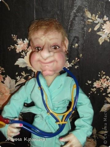 Это я сделала в подарок доктору ЛФК в детской поликлинике. Ей скоро исполнится 70 лет, а она ещё работает. Очень любит деток и очень внимательный врач!)))))))))))) фото 3