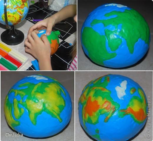 Глобус сделать своими руками