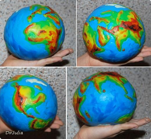Поделка своими руками планета земля