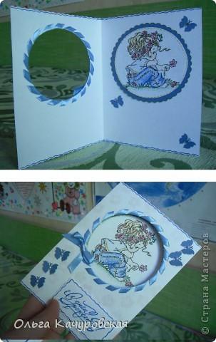 """Здравствуйте!!! Доброго вам дня!  Накопилось у меня за последнее время и открыток, и конвертиков для денег... вот решилась показать часть. Пробовала сделать открытки с отрисовками, а ещё """"получили вид на жительство"""" почти все цветочки из """"коллекции""""   http://stranamasterov.ru/node/342095   фото 4"""