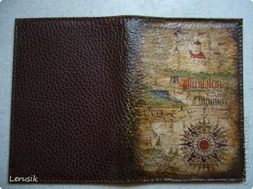 Моя обложка на паспорт фото 1