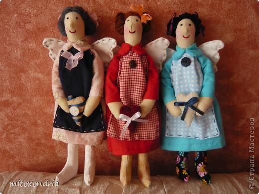 Наконец-то я опять взялась за шитье кукол! 5 месяцев не занималась Тильдочками, и вот, свершилось! фото 5