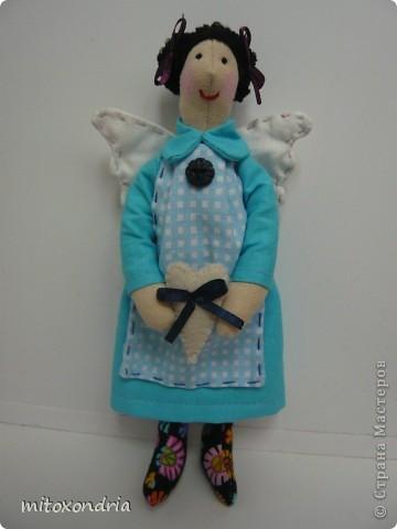 Наконец-то я опять взялась за шитье кукол! 5 месяцев не занималась Тильдочками, и вот, свершилось! фото 4