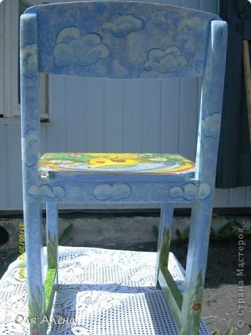 Обнавлённый стульчик фото 5