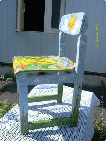 Обнавлённый стульчик фото 4