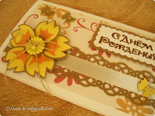 """Здравствуйте!!! Доброго вам дня!  Накопилось у меня за последнее время и открыток, и конвертиков для денег... вот решилась показать часть. Пробовала сделать открытки с отрисовками, а ещё """"получили вид на жительство"""" почти все цветочки из """"коллекции""""   http://stranamasterov.ru/node/342095   фото 14"""