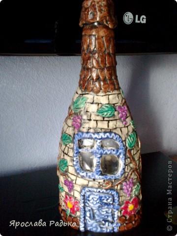 Вот такая бутылочка получилась фото 1
