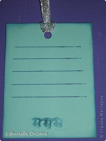 Вот такой блокнотик я сделала в подарок на новогоднюю встречу рукодельниц нашего клуба.Подарочки на этой встрече разыгрывались и мне досталась вышивка. Симпатичный Санта Клаус.))) А мой блокнотик был призом для нашего организатора.  фото 6